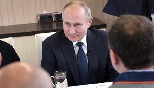 Путин нашел замену чаю