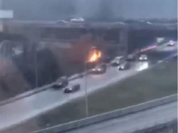 Убийство в Гидропарке в Киеве: киллер сжег авто