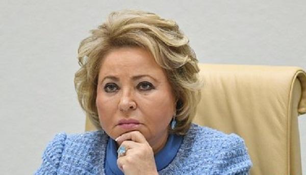 Матвиенко анонсировала ответные меры на санкции США против «Северного потока-2»