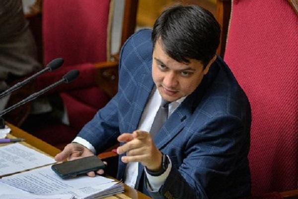 "Разумков подписал закон о штрафе до 85 тыс. гривен за ""кнопкодавство"""