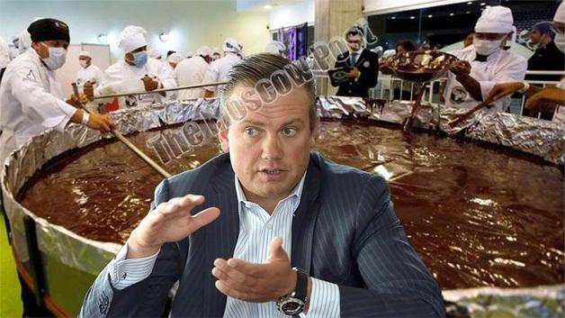 Не всё Якунину шоколад