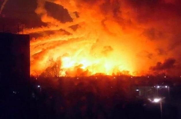 Фирма Микитася причастна к взрывам на военных складах