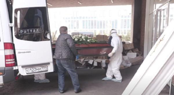 Россиянам показали умерших пациентов с коронавирусом
