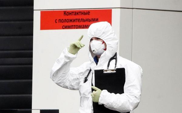 В РФ за сутки зафиксировано 10 559 новых случаев COVID-19, умерли 1 537 человек