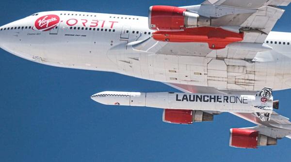 Компания миллиардера Брэнсона попыталась запустить орбитальную ракету с самолёта Boeing 747. У неё отказал двигатель