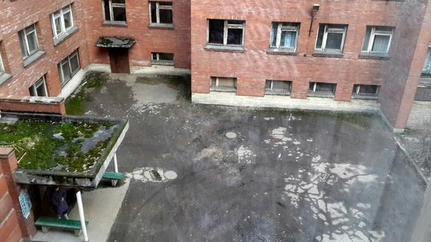 В Санкт-Петербурге пожар в Боткинской больнице: один пациент погиб