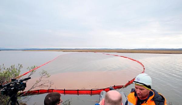 В Москве узнали о разливе топлива в Норильске через 25 минут