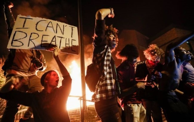 Митинги в поддержу Джорджа Флойда распространились на Лондон