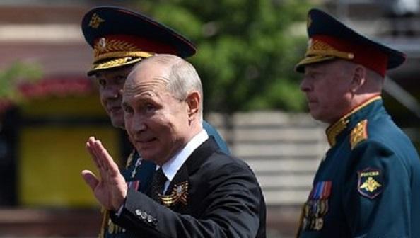 Путин оценил уровень парада Победы в Москве