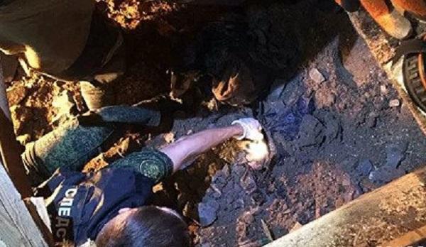 Брат замурованного в бетон российского ребенка знал об убийстве
