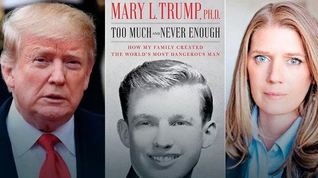 Трамп через суд добивается запрета скандальной книги его племянницы