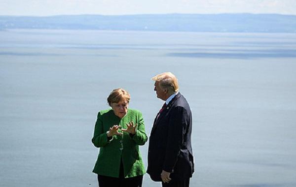 Меркель считает, что пора задуматься о мире без лидерства США