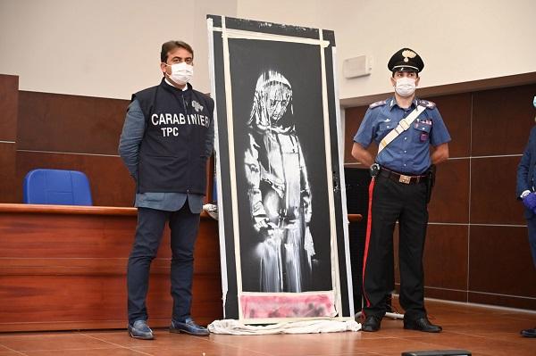 Во Франции задержали подозреваемых в краже граффити Бэнкси из концертного зала
