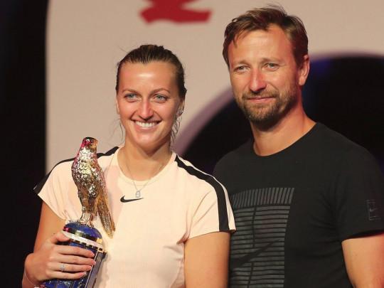 Тренер чемпионки Уимблдона бросил жену и переехал к теннисистке