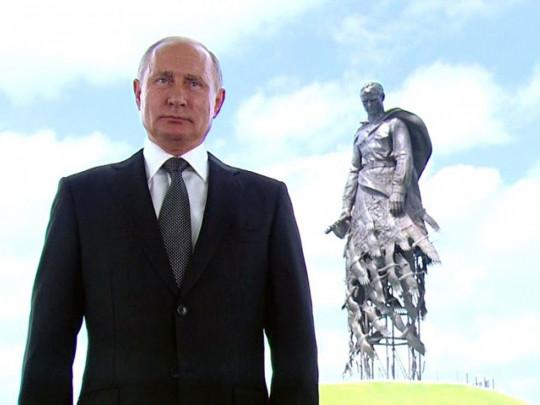 """Путин призвал россиян """"обнулить"""" его президентские сроки"""
