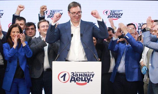 В Сербии официально назвали победителей парламентских выборов