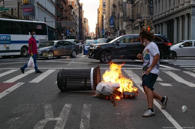 Как выглядит Нью-Йорк спустя два месяца с начала протестов