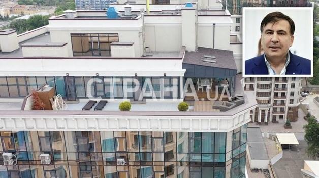 Михо и его крыша. Появились фото и видео одесского пентхауса Саакашвили