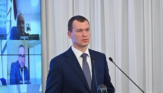 Дегтярев заявил о принятии предложения возглавить Хабаровский край за секунду