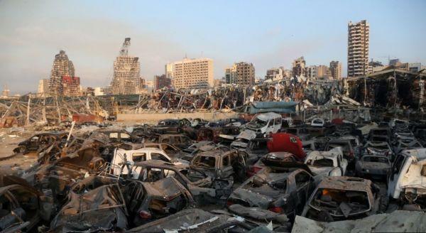 Черный вторник: Бейрут - в руинах, Ливан - в разрухе
