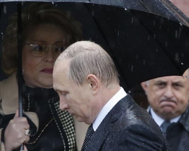 Зловещие кроты глубоко копнули под Путина
