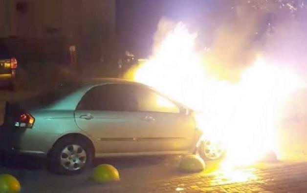 """Появилось видео поджога авто """"Схемы"""": Аваков пообещал открытое расследование"""