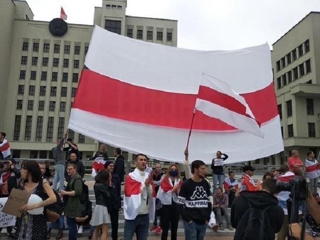 Telegram переделал флаг Белоруссии в бело-красно-белый