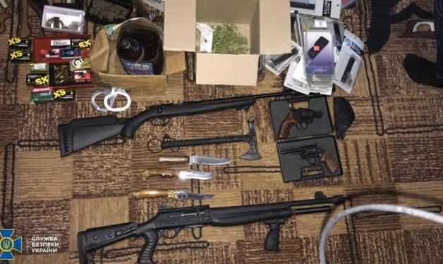 СБУ отчиталась о разоблачении торговцев оружием в Киеве