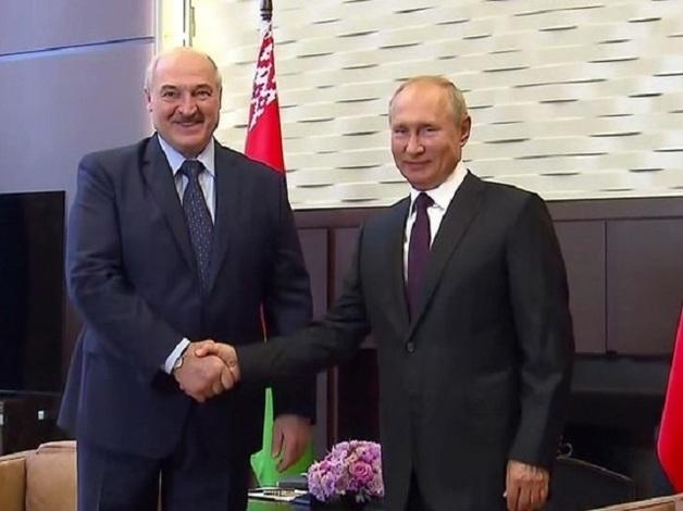 Виторган высмеял позу Лукашенко на встрече с Путиным