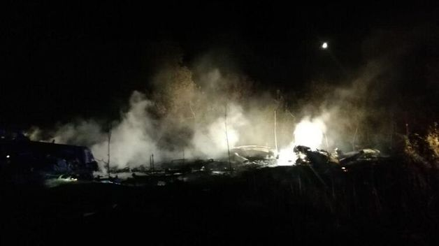Авиакатастрофа под Харьковом: пилот сообщал об отказе левого двигателя