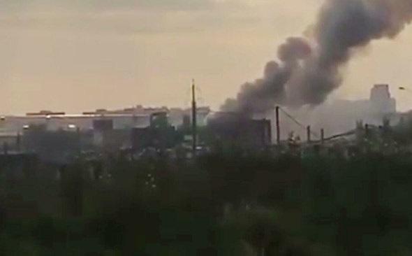 На заводе под Москвой прогремел мощный взрыв
