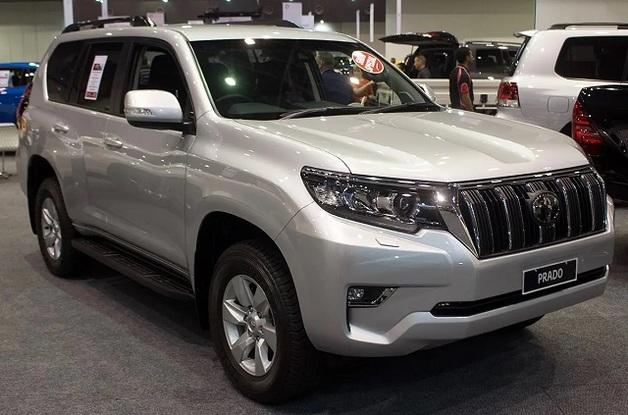ГБР купило шесть внедорожников Toyota Land Cruiser более чем за 8 млн гривен
