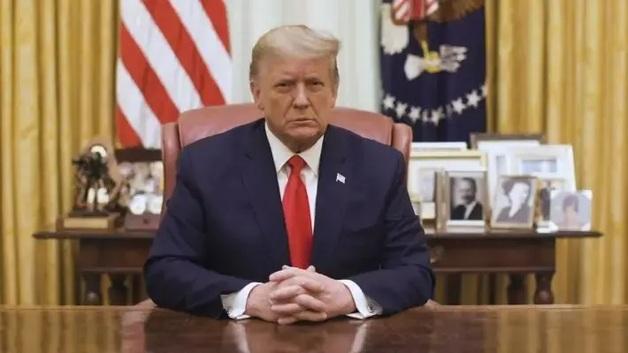 «Насилию и вандализму нет места в нашей стране». Трамп после объявления импичмента выступил с заявлением