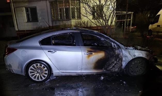 Ночью в Коцюбинском сожгли авто экс-мэра
