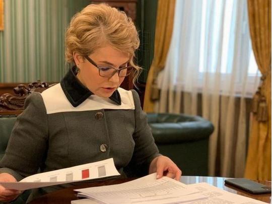 """Тимошенко пришла в Раду в """"портупее"""""""