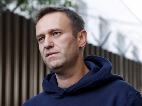 Навального отправили по этапу