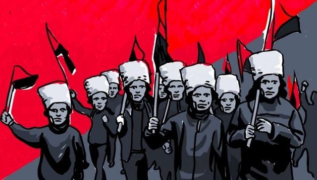 Как полиция ищет анархистов-диверсантов, но ловит не тех