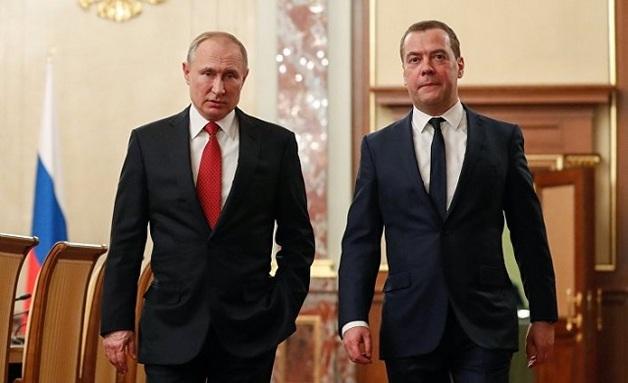 Путин назначил Медведева на ещё одну должность