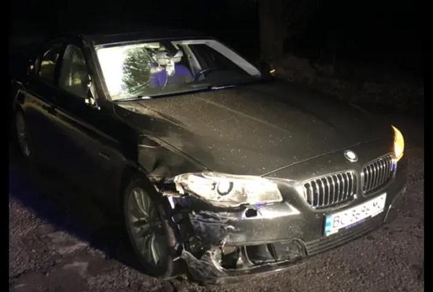 Во Львовской области пьяный помощник судьи на BMW сбил велосипедиста