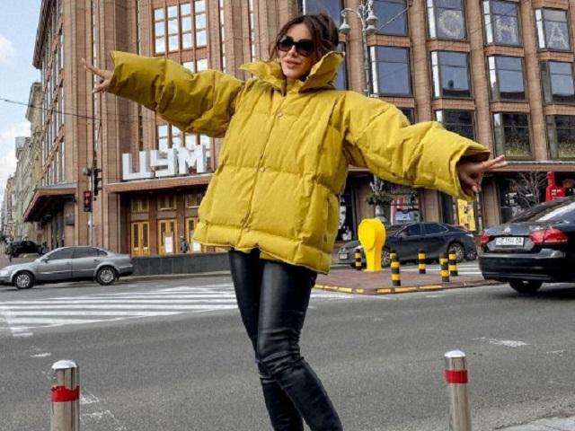 Ани Лорак снова нагрянула в Киев и побывала в гостях у разведенного диджея