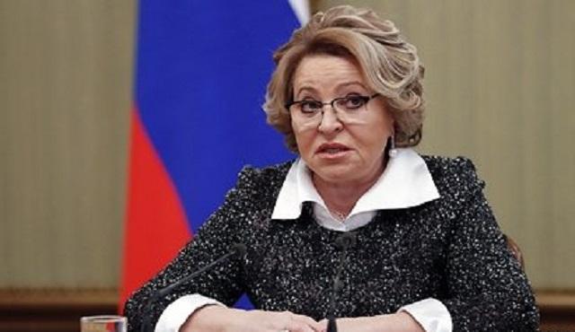 Матвиенко рассказала о послании «нового времени» Путина Федеральному собранию