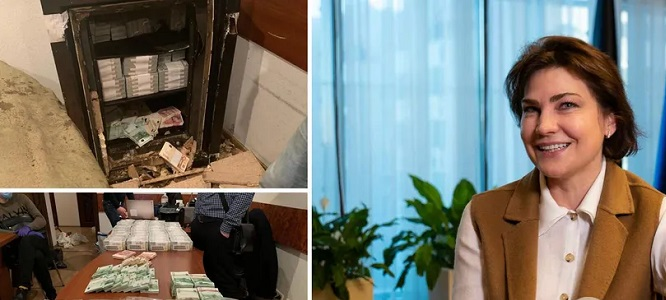 Венедиктова подписала подозрение брату Вовка, пойманному на взятке