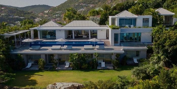 Чудесная вилла на острове миллионеров