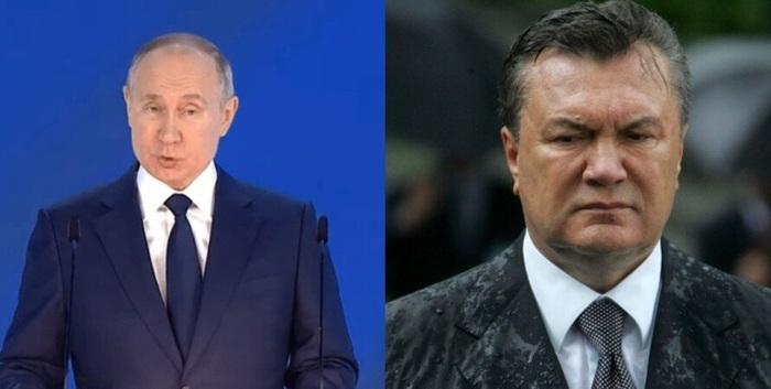 Обращение Путина: Януковича чуть не убили