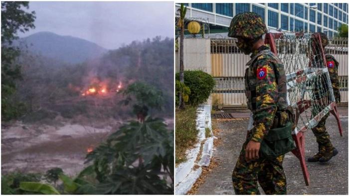 В Мьянме, где 3 месяца продолжается военный переворот, начались боевые действия