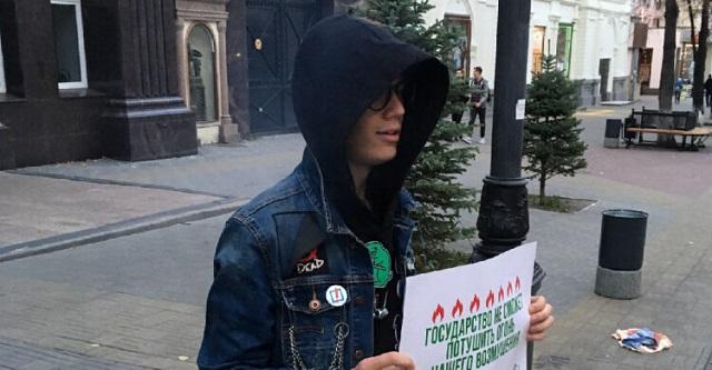 Против челябинского школьника возбудили уголовное дело по «дадинской» статье