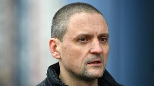 В центре Москвы задержали Сергея Удальцова
