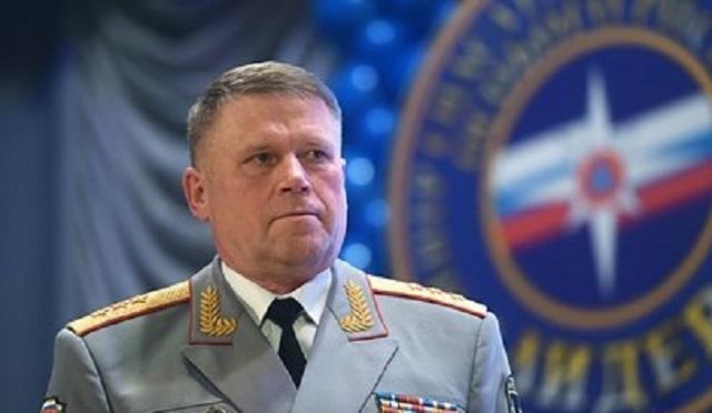 Замглавы МЧС России освободили от должности