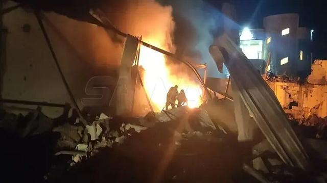 Израиль нанес авиаудар по объектам в Сирии, есть жертвы