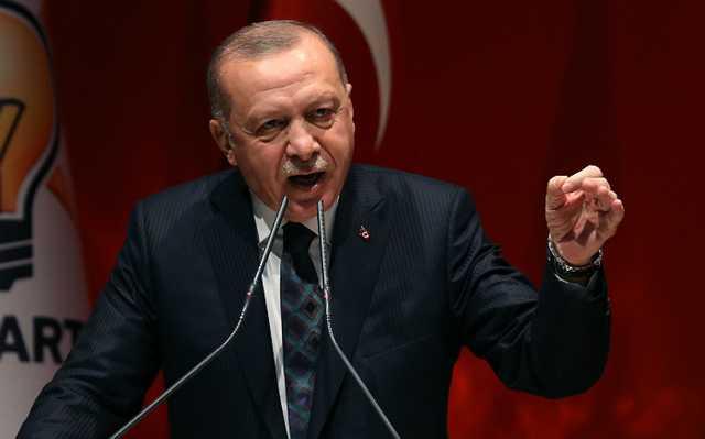 Эрдоган обвинил Израиль в терроре против палестинцев
